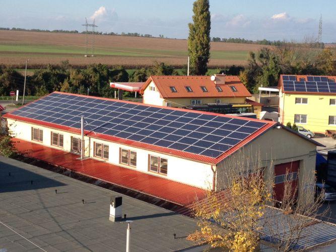 52,5 kWp teljesítményű hálózatra visszatápláló napelemes rendszer, Aszód