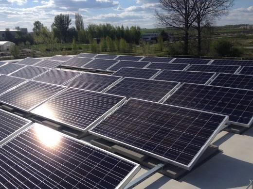 10 kWp teljesítményű hálózatra visszatápláló napelemes rendszer, Sóskút