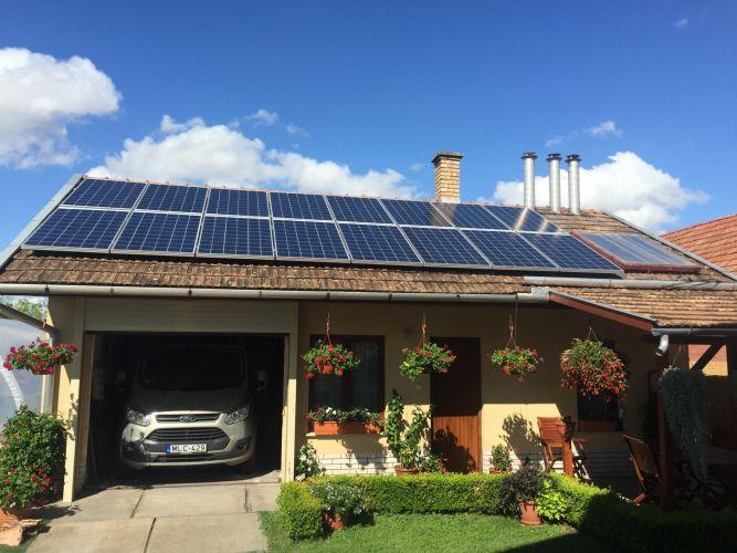 4,16 kWp Sharp napelemes rendszer, Fronius Symo inverter, Jászfelsőszentgyörgy