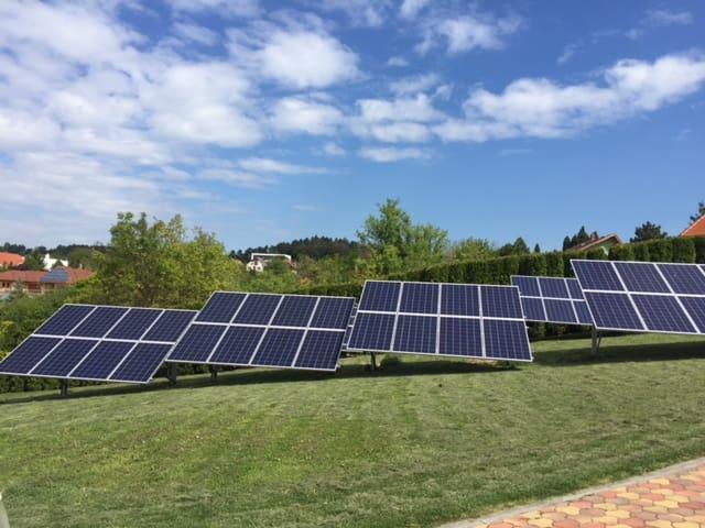 10,26 kWp Sharp napelemes rendszer, SolarEdge Inverter, Keszthely