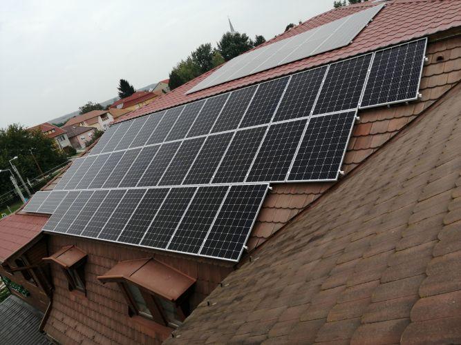 45,9 kWp Sharp napelemes rendszer, Fronius inverter, Kartal
