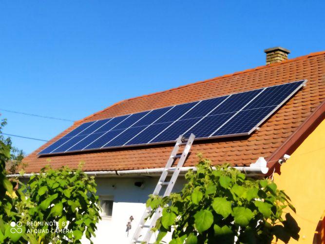6,16 kWp Sharp napelemes rendszer SolarEdge inverterrel, Dombóvár