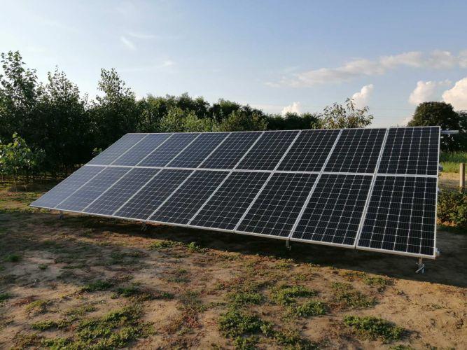 6,66 kWp Sharp napelemes rendszer SolarEdge inverterrel, Sényő