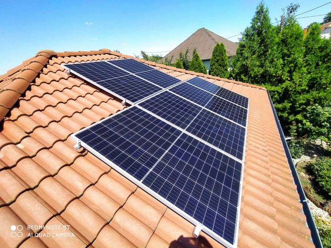 5,89 kWp Sharp napelemes rendszer SolarEdge inverterrel, Muhi