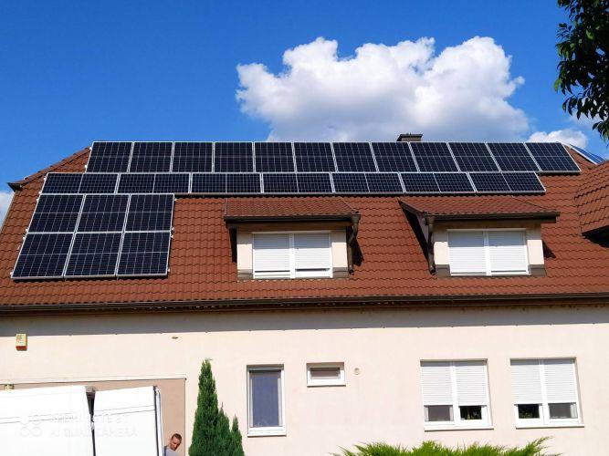 13,53 kWp Sharp napelemes rendszer SolarEdge inverterrel, Kecskemét