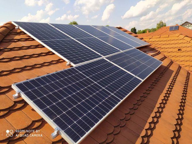 4,2 kWp Sharp napelemes rendszer SolarEdge inverterrel, Debrecen