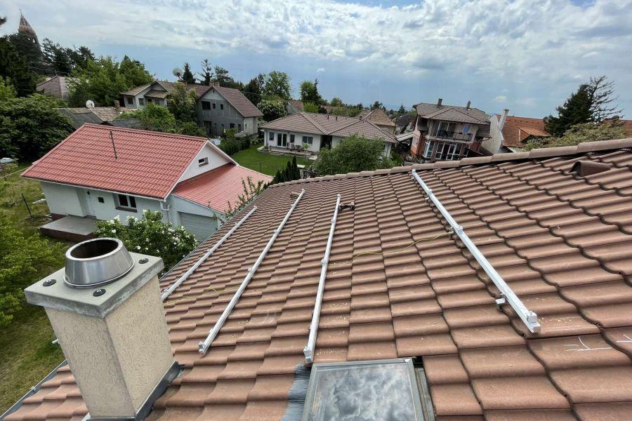 tető készül